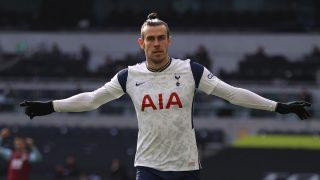 Bale, tras marcar con el Tottenham (Getty)