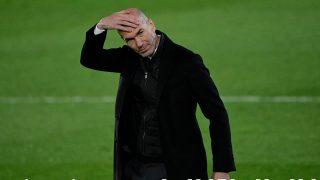 Zidane, en el partido ante la Real. (AFP)