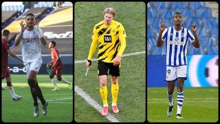 El Borussia busca sustitutos para Haaland. (AFP)