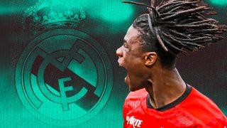 Camavinga, objetivo del Real Madrid para este verano.