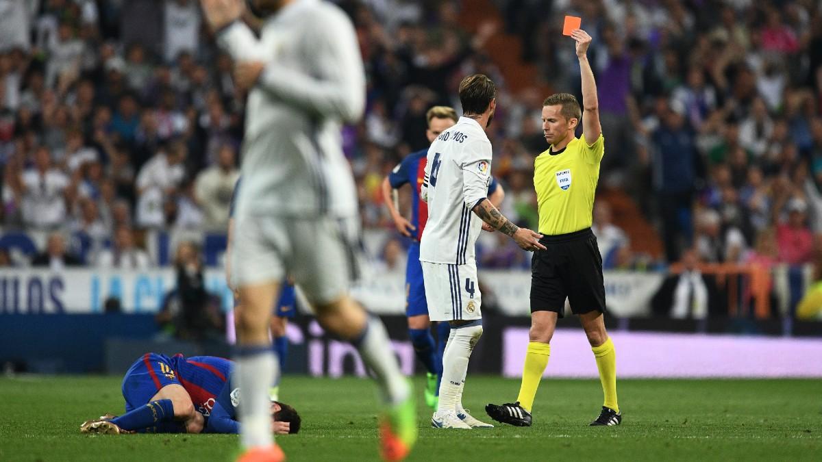 El historial de Hernández Hernández que preocupa al Real Madrid en el derbi