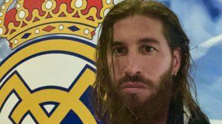 Sergio Ramos revolucionó las redes sociales con su nuevo look. (@SergioRamos)