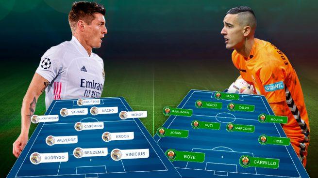 Real Madrid – Elche: dimisión o candidato
