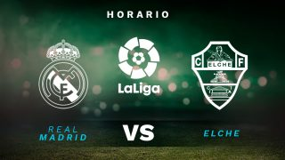 Real Madrid – Elche: jornada 27 de la Liga Santander.