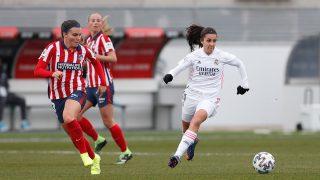 Partido de ida entre el Real Madrid y el Atlético de Madrid. (@realmadridfem)