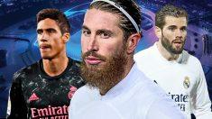 Ramos y tres centrales contra el Atalanta.
