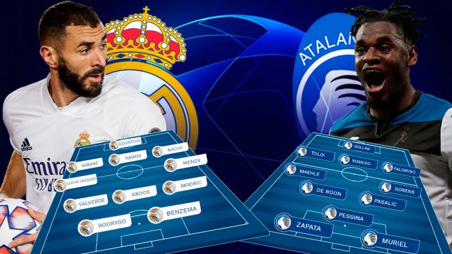 Real Madrid – Atalanta: El Madrid vota por la Champions