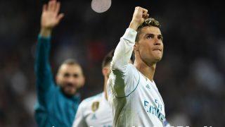 Cristiano Ronaldo, en su época en el Real Madrid. (Getty)