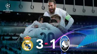 El Real Madrid se impuso 3-1 ante el Atalanta.