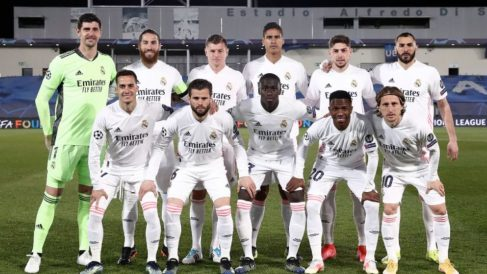 Once titular del Real Madrid ante el Atalanta. (Realmadrid.com)