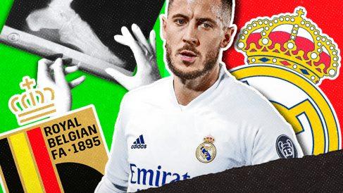 Sólo Bélgica quiere que Hazard se opere.