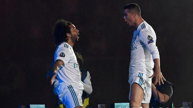Marcelo dispara los rumores de la vuelta de Cristiano al Real Madrid: «Pronto»