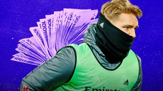 Ödegaard no tiene clara su vuelta al Real Madrid.