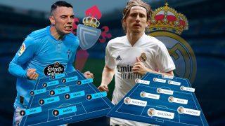 Celta y Real Madrid se enfrentan en Balaídos.