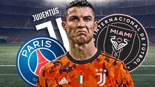 A Cristiano Ronaldo sólo le quedan dos salidas para irse de la Juve: PSG o Miami
