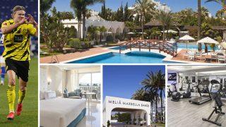 Haaland pasará una semana en el Hotel Meliá Marbella Banús con la selección de Noruega (Getty/ Hotel Meliá Marbella Banús)
