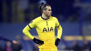 Gareth Bale, en un partido del Tottenham (AFP).