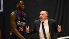 Pablo Laso y Usman Garuba. (ACB Photo)