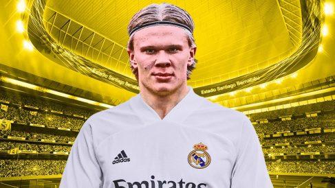 El Real Madrid es el mejor colocado para fichar a Haaland este verano.