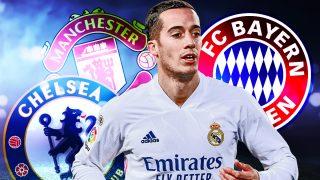 Lucas Vázquez saldrá del Madrid este verano y tiene muchos tentadores.