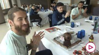 Ramos celebra su 35 cumpleaños en la selección.