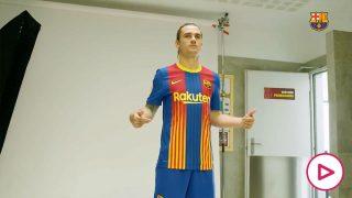 camiseta barcelona clásico