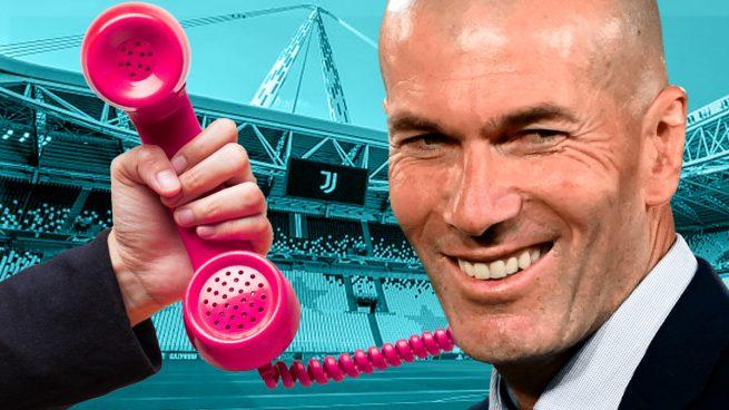 Tercera llamada de la Juventus a Zidane