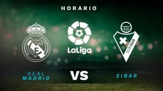 Real Madrid – Eibar: jornada 29 de la Liga Santander.