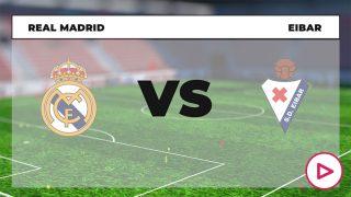 Liga Santander 2020-2021: Real Madrid – Eibar | Horario del partido de fútbol de la Liga Santander.