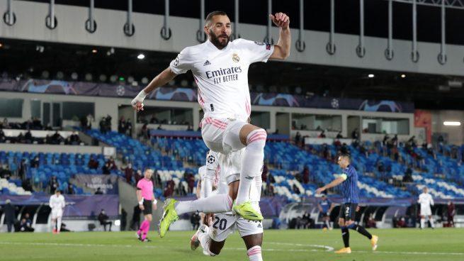 Benzema, la pesadilla del Eibar