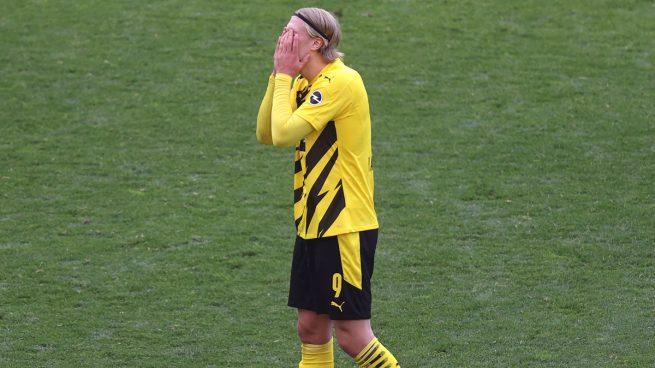 Haaland: «¿Salir del Dortmund? Tengo contrato y seré respetuoso»