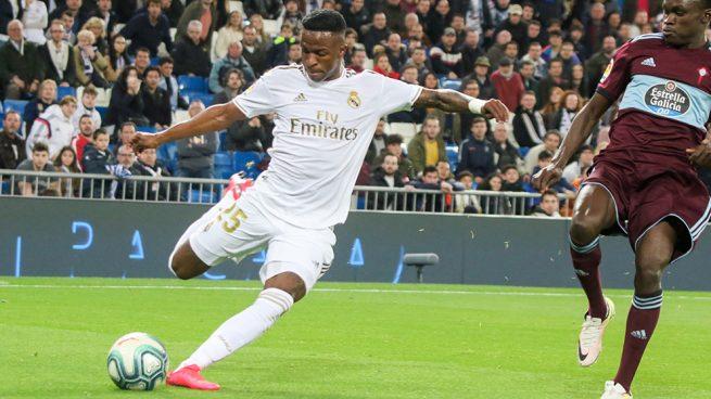 Vinicius: «Todos en el Madrid me quieren»