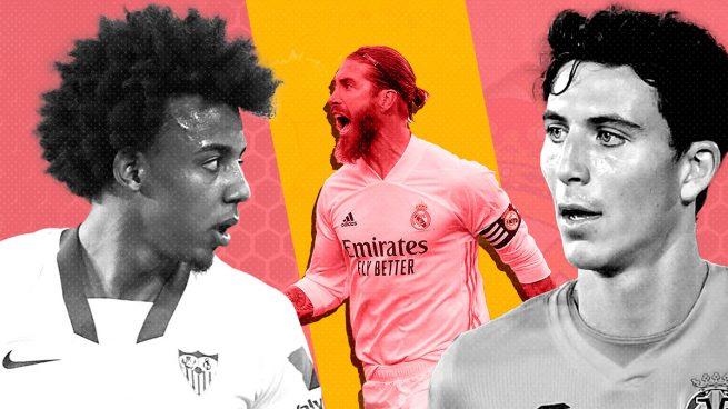 Koundé y Pau Torres, los preferidos si se marcha Sergio Ramos