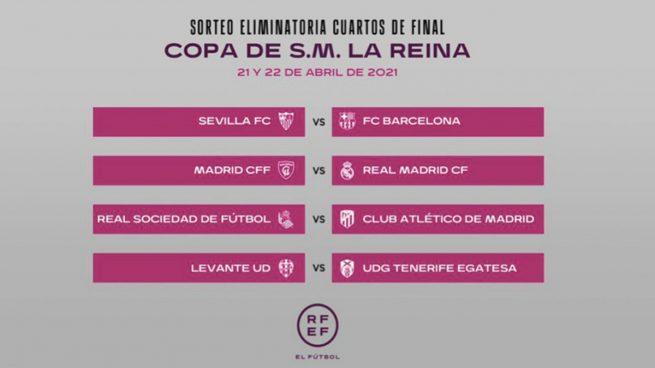 El Madrid CFF, rival del Real Madrid en la Copa de la Reina