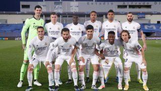 El once titular del Real Madrid ante el Liverpool. (Realmadrid.com)