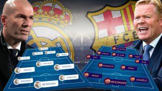 Real Madrid – Barcelona: Clásico de la Liga Santander.