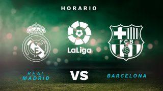 Real Madrid – Barcelona: Clásico de la jornada 30 de la Liga Santander.