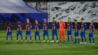 El uno a uno del Barcelona frente al Real Madrid. (AFP)