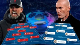 Liverpool y Real Madrid se enfrentan en la vuelta de los cuartos de final de la Champions League.