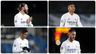Sergio Ramos, octavo jugador en dar positivo por coronavirus en el Madrid. (Getty)