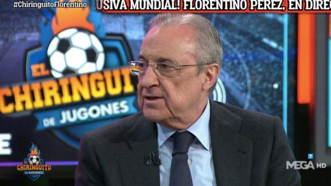 Florentino Pérez: «La pandemia ha acelerado la Superliga porque estamos todos arruinados» Florentino-1-1-655x368