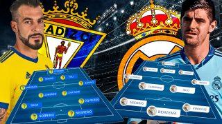 Cádiz y Real Madrid se enfrentan en el duelo de Liga Santander.