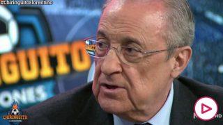 Florentino: «Es imposible que nos echen de la Champions porque la ley nos protege»