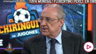 Florentino Pérez: «La pandemia ha acelerado la Superliga porque estamos todos arruinados»