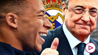 Florentino Pérez: «Por la calle me dicen que fiche a Mbappé y yo respondo 'tranquilo'».