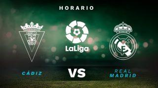 Liga Santander 2020-2021: Cádiz – Real Madrid | Horario del partido de fútbol de la Liga Santander.