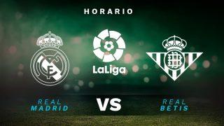 Real Madrid – Betis: Hora y dónde ver por TV en directo y online el partido de la Liga Santander,