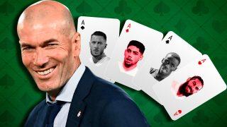 Zidane espera cuatro fichajes en Stamford Bridge.