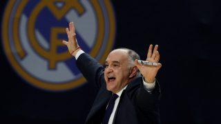 Pablo Laso, durante el partido del Real Madrid ante Efes (EFE)