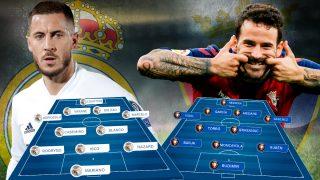 Real Madrid y Osasuna se enfrentan en el Di Stéfano.
